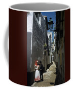 A Couple Lingers On The Sunny Side Coffee Mug by Luis Marden