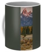 A Cow Moose Enjoys Breakfast Coffee Mug