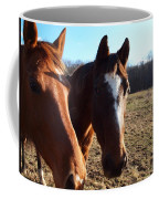 A Cowboys Best Friend Coffee Mug by Robert Margetts