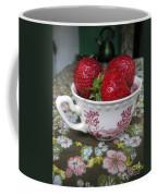 A Cup Of Strawberries Coffee Mug