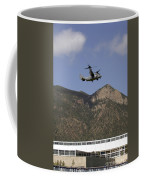 A Cv-22 Osprey Flies Over The 2007 Coffee Mug