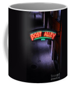 A Dark And Lonely Post Alley - Seattle  Coffee Mug