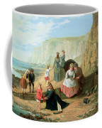 A Day At The Seaside Coffee Mug by William Scott