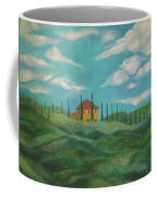 A Day In Tuscany Coffee Mug by John Keaton