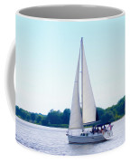 A Day Of Sailing Coffee Mug