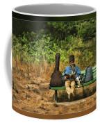 A Day On A Bench Coffee Mug