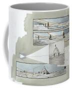 A Diagram Examines Photographs Coffee Mug by Richard Schlecht