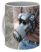 A Digital Camera Is The Chief Tool Of This Photographer Coffee Mug