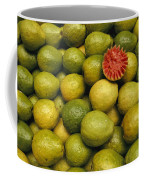 A Display Of Guavas In An Open Air Coffee Mug