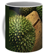 A Durian Fruit - Popular In South East Coffee Mug by Justin Guariglia