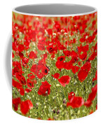 A Field Of Poppies Coffee Mug by Richard Nowitz