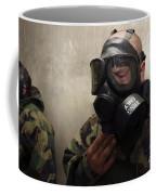 A Field Radio Operator Clears Cs Gas Coffee Mug