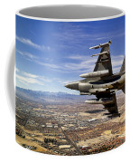 A Fighter Jet Breaks Right On A Final Coffee Mug