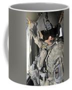 A Flight Medic Conducts A Daily Coffee Mug