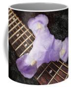 A Flower Music And Romance Coffee Mug
