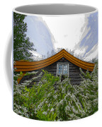 A Flowery House In Norway Coffee Mug