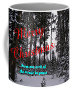 A Forest Christmas Coffee Mug