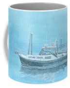 A Fortier Docked In Maine Coffee Mug