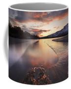 A Frozen Straumen Lake On Tjeldoya Coffee Mug by Arild Heitmann