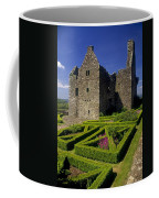 A Garden In Front Of Tully Castle Near Coffee Mug