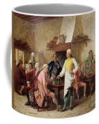 A Gentleman's Debate Coffee Mug by Benjamin Eugene Fichel