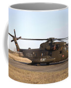 A German Ch-53gs Helicopter At Stendal Coffee Mug