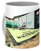A Giant Sized Game Of Monopoly Coffee Mug
