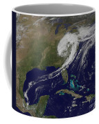 A Giant Swirl Of Clouds Coffee Mug