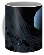A Gigantic Scarp On The Surface Coffee Mug by Ron Miller