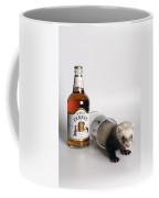 A Glass Of Fursty Ferret Coffee Mug