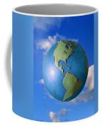 A Globe In The Sky Coffee Mug