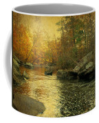 A Golden Autumn At The Unami Coffee Mug