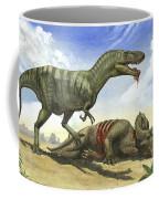 A Gorgosaurus Libratus Stands Coffee Mug