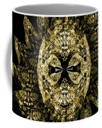 A Gothic Guise Of Gold Coffee Mug