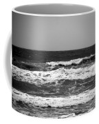 A Gray November Day At The Beach - II  Coffee Mug