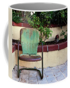 A Green Chair Coffee Mug