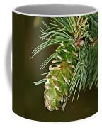 A Growing Pine Cone Coffee Mug