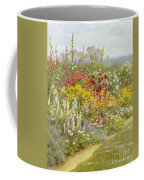 A Herbaceous Border Coffee Mug