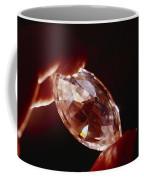 A Huge Nine-carat Diamond Glistens Coffee Mug
