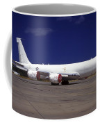 A Kc-135 Stratotanker At Hickham Air Coffee Mug