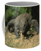 A Komodo Dragon Sensing The Air Coffee Mug
