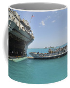 A Landing Craft Utility Approaches Coffee Mug