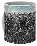 A Large Gathering Of Robots Coffee Mug