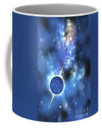 A Large Star With Concentrated Matter Coffee Mug by Corey Ford