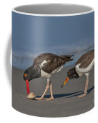 A Lesson In Fine Dinning Coffee Mug by Susan Candelario