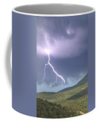 A Lightning Bolt From A Thunderstorm Coffee Mug