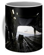 A Loadmaster Guides The Pilot Of A C-17 Coffee Mug