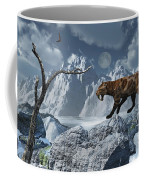 A Lone Sabre-toothed Tiger In A Cold Coffee Mug by Mark Stevenson
