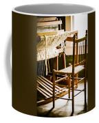 A Loom For Grandma Coffee Mug by Carolyn Marshall