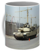 A M1 Abram Sits Out Front Of The New Coffee Mug by Terry Moore